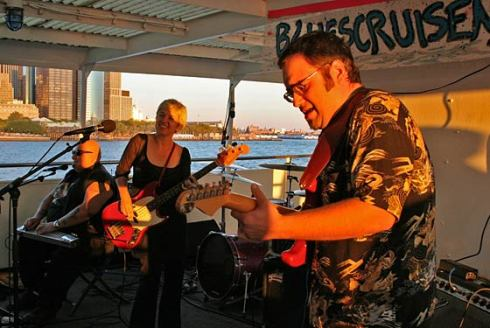 Rocks Off Concert Cruise. The Rocks Off Concert Cruise series is a three-hour booze cruise around Manhattan featuring live music and alcohol. There's a Pearl Jam cover band schedule for this summer. Enough said.