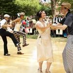 Jazz Lawn Party. Step back to the Roaring 20s this summer during the 7th Annual Jazz Age Lawn Party. Held June 16 and 17, and August 18 and 19, Governor's Island transforms to a scene right out of the Great Gatsby, complete with period games, music and food.